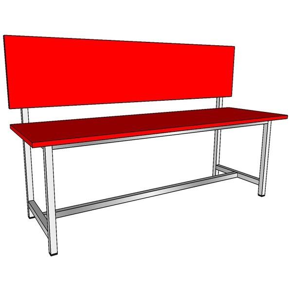 прочная скамейка в раздевалку или спортзал на заказ