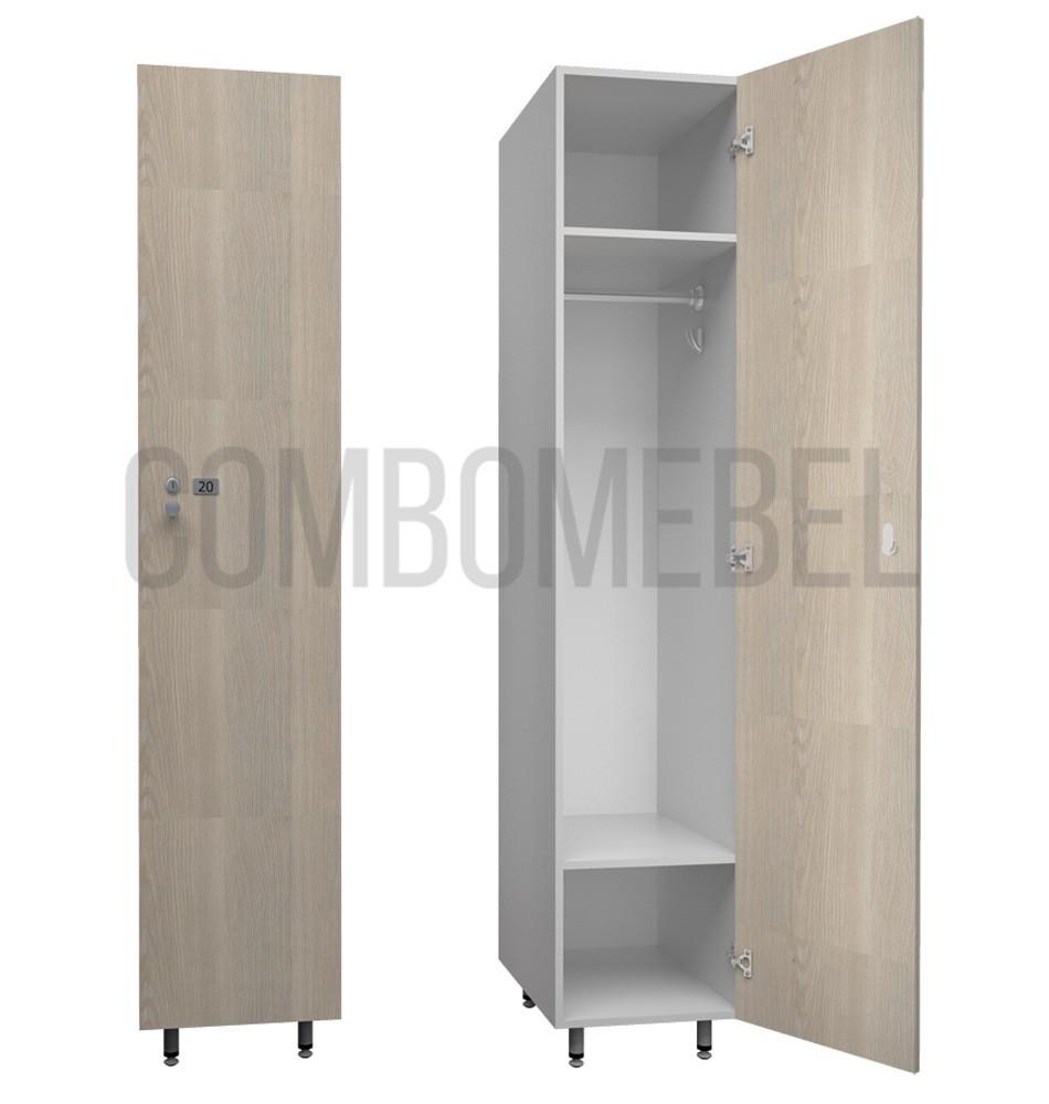Односекционные шкафчики для фитнес клуба серии Эгоист