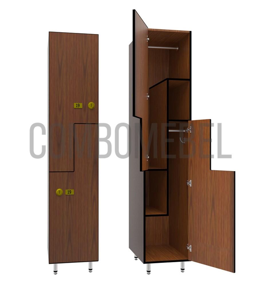 F-образные шкафчики для фитнес клуба от производителя