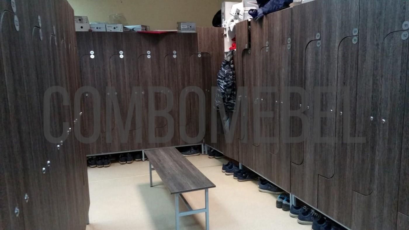 шкафы для раздевалок на заказ в Москве от производителя