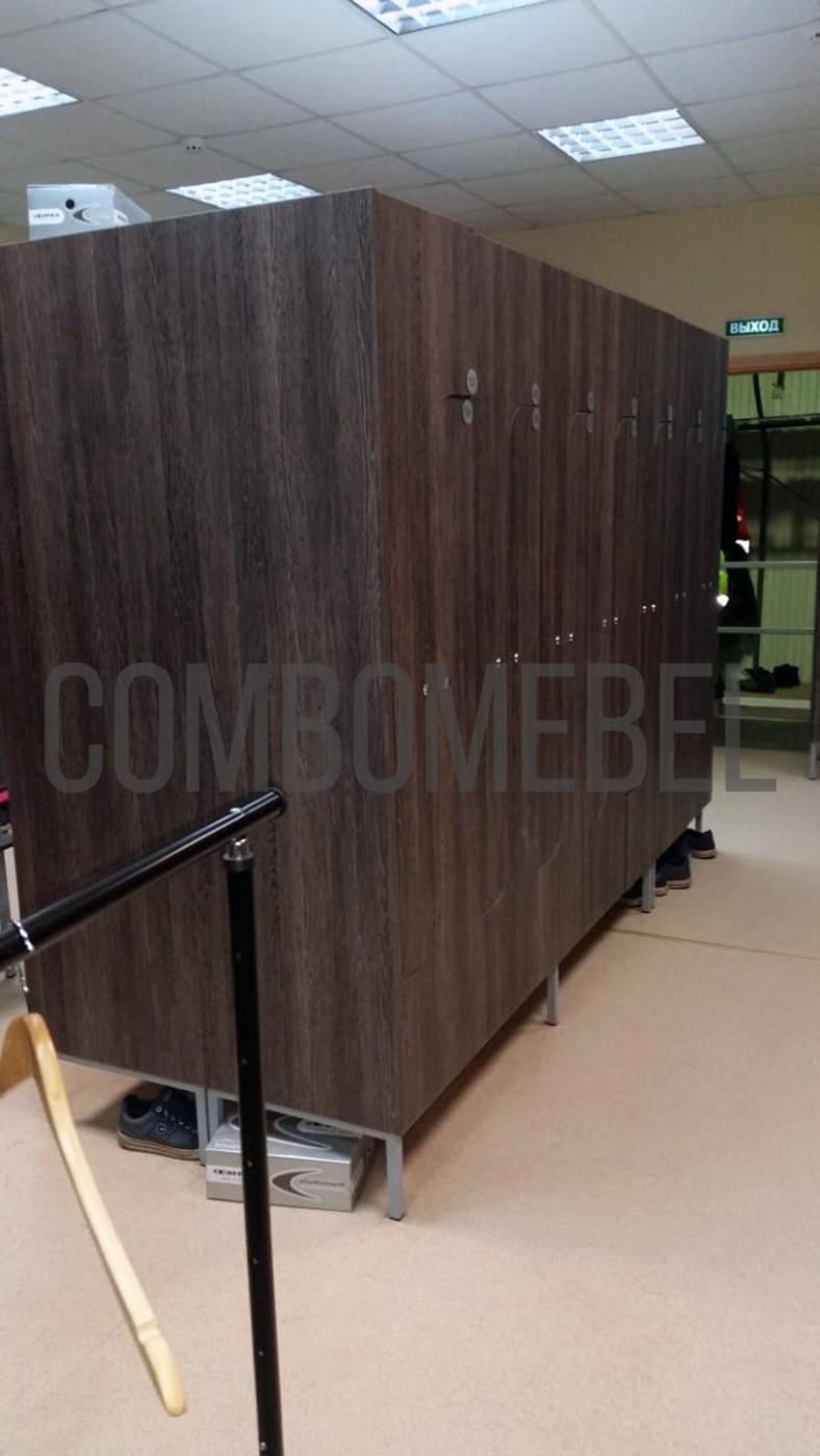 эксклюзивные шкафы для раздевалки производственного предприятия