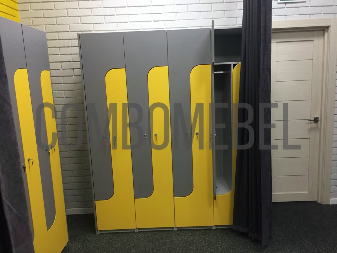 индивидуальный проект на шкафы для переодевания в москве