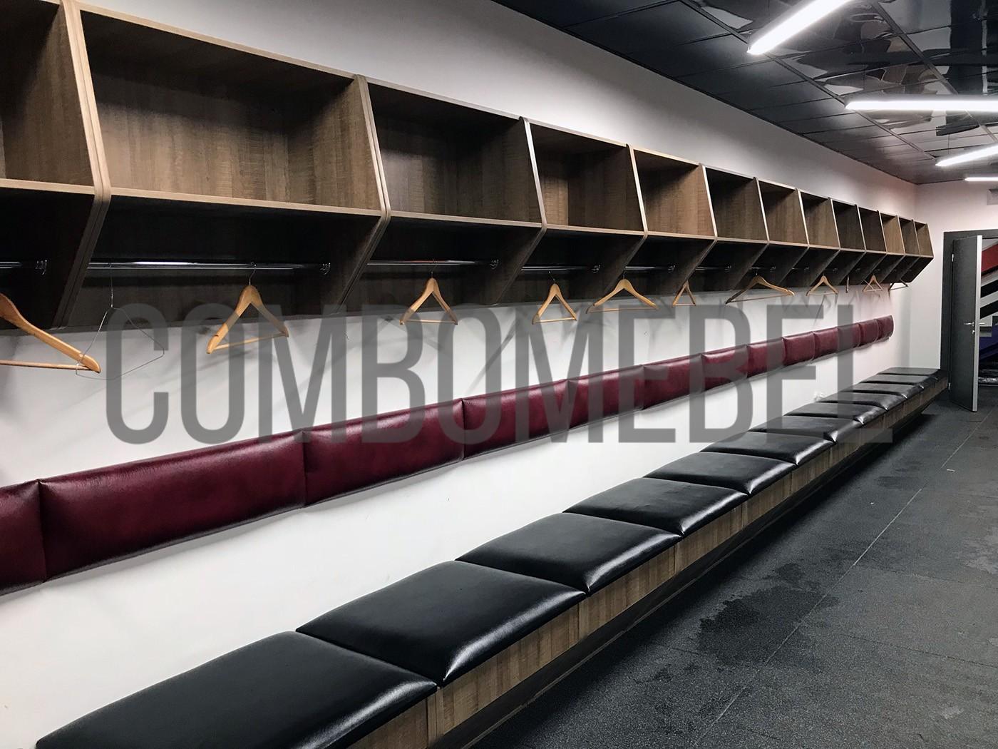 эксклюзивные хоккейные шкафы для новой ледовой арены в Москва