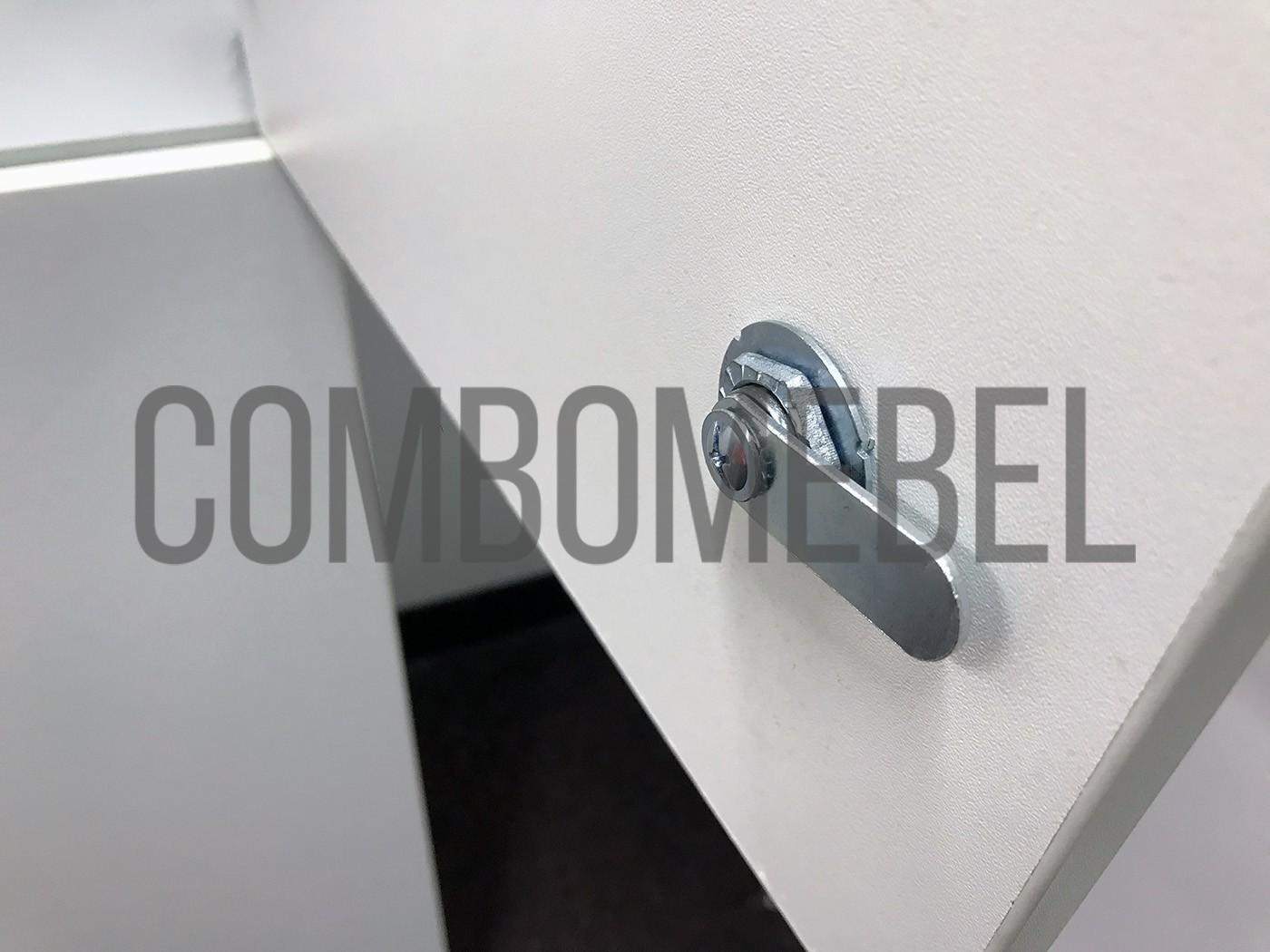 ригель мебельного механического замка EuroLock 4221c для шкафов