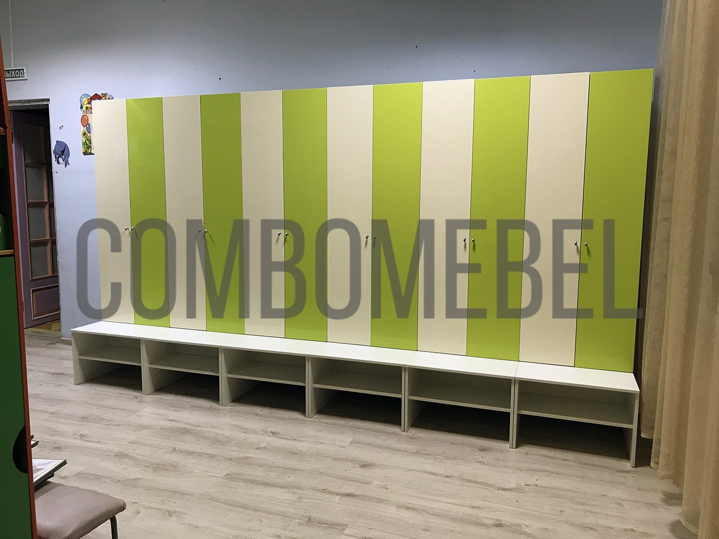 лучшие шкафы для одежды в детский сад от производителя