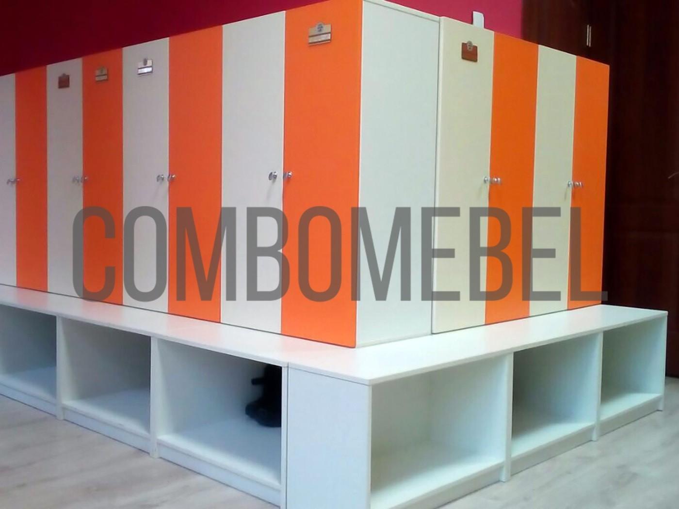 шкафы для детского сада на заказ по индивидуальному проекту