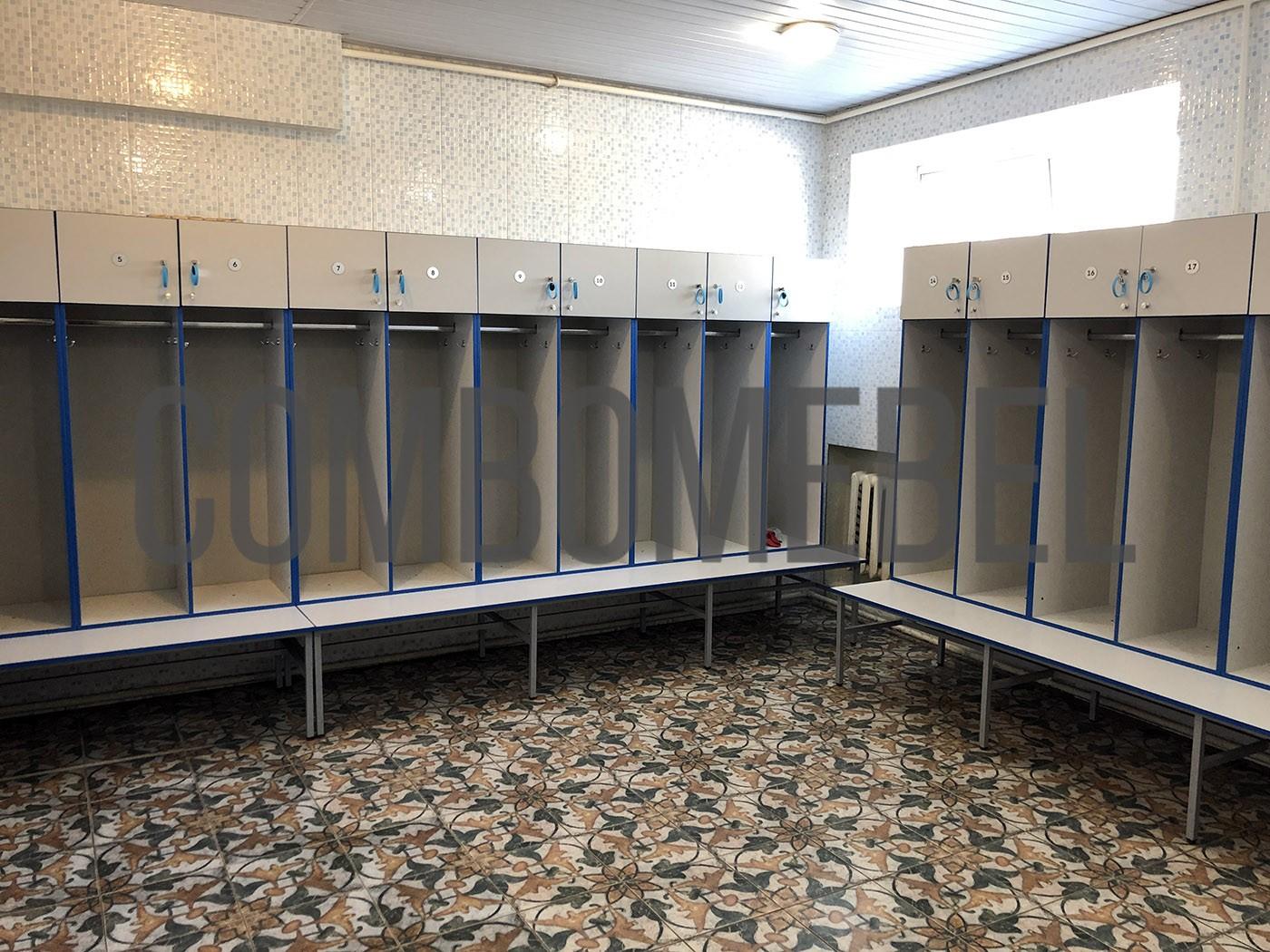 модульные шкафы для бани по индивидуальному проекту