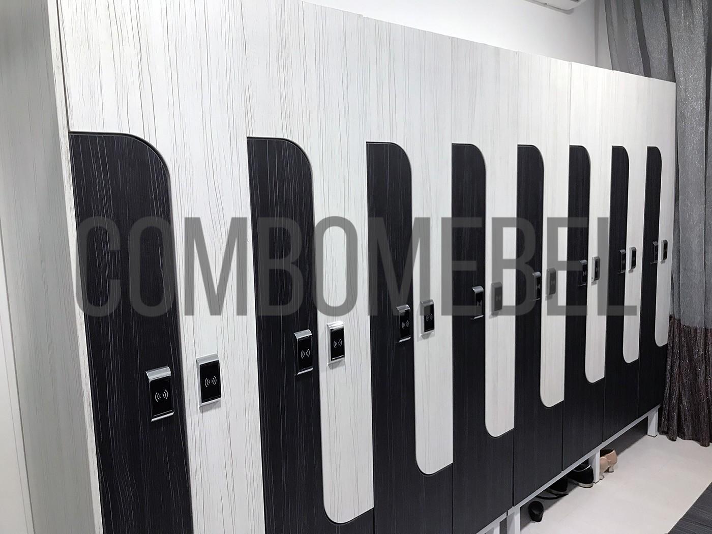 индивидуальный проект с замером помещения на шкафы раздевальные в Москве