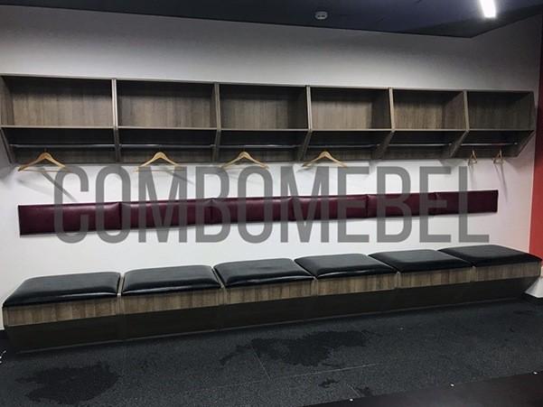 Мебель для хоккейных раздевалок
