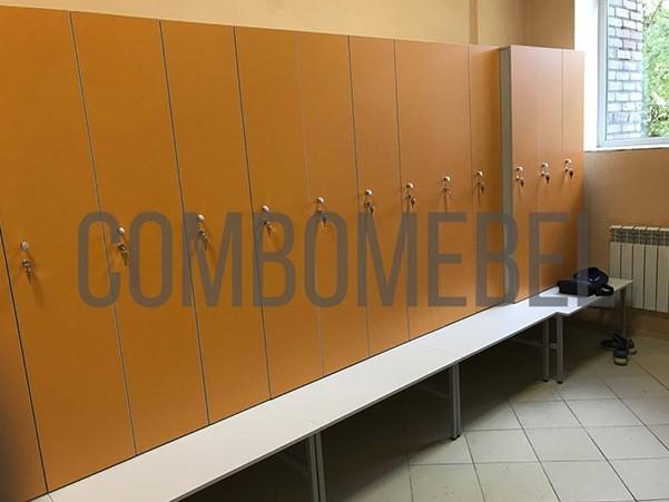 Шкафчики для переодевания спортивные