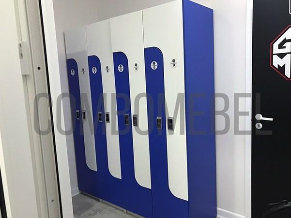 шкафы ЛДСП для раздевалки для одежды