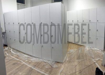 Трехсекционные шкафы