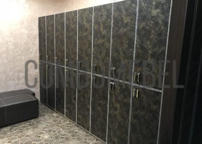 эксклюзивные двухсекционные шкафы с электронными замками