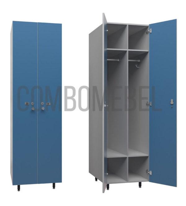 шкаф для раздевалки модульный эконом