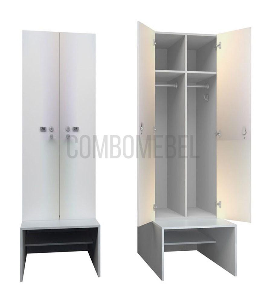 Модульные шкафы для раздевалок