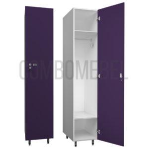 Шкаф для раздевалки односекционный Эгоист-премиум