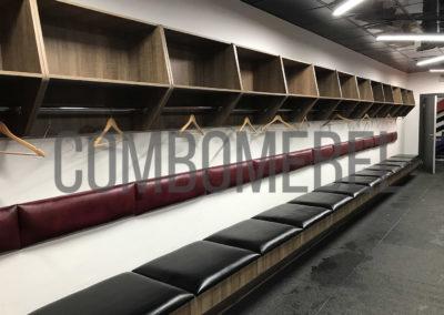 Шкафы для хоккейной раздевалки