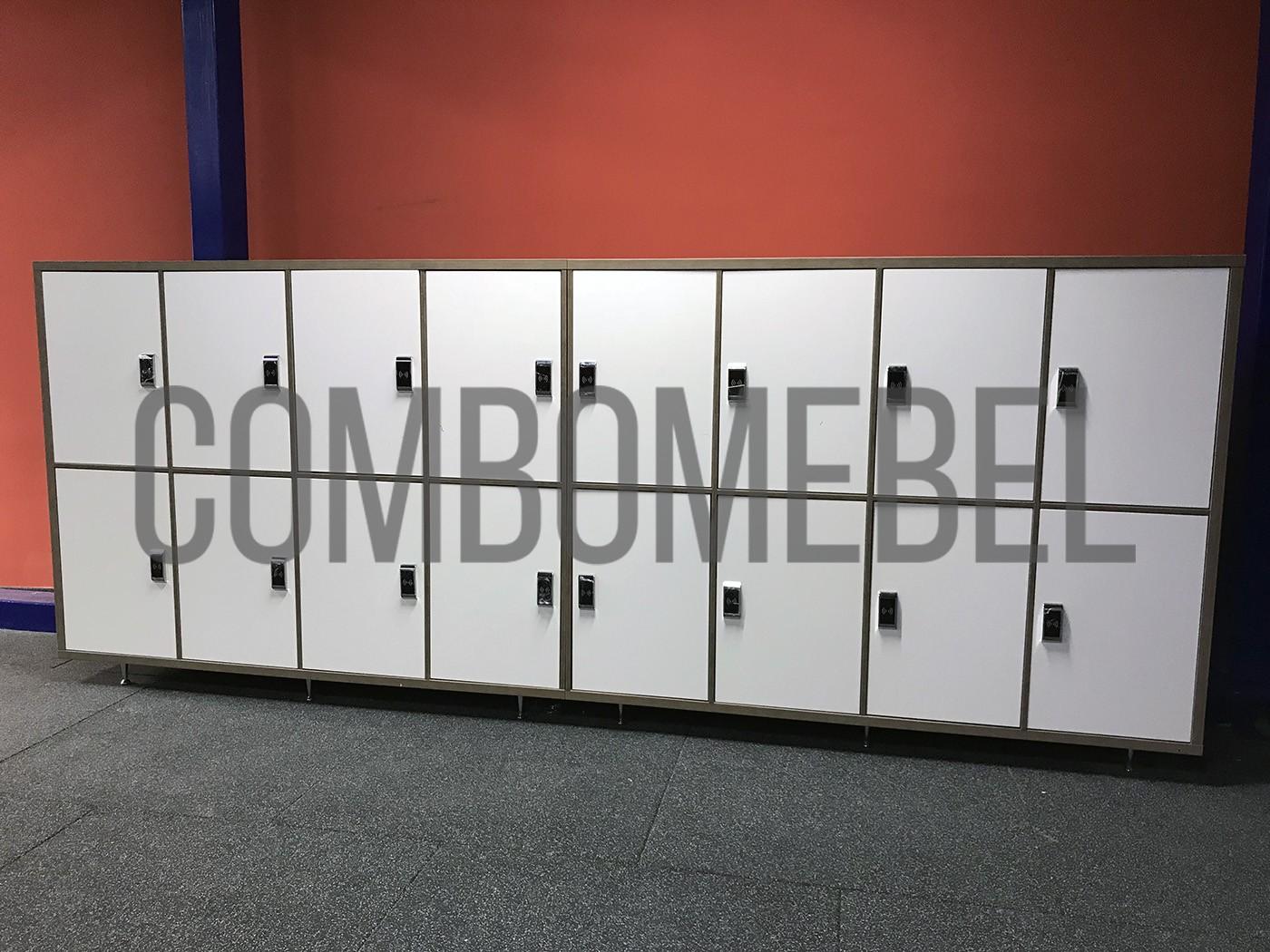 составные шкафы локеры для хоккейной раздевалки по индивидуальным чертежам