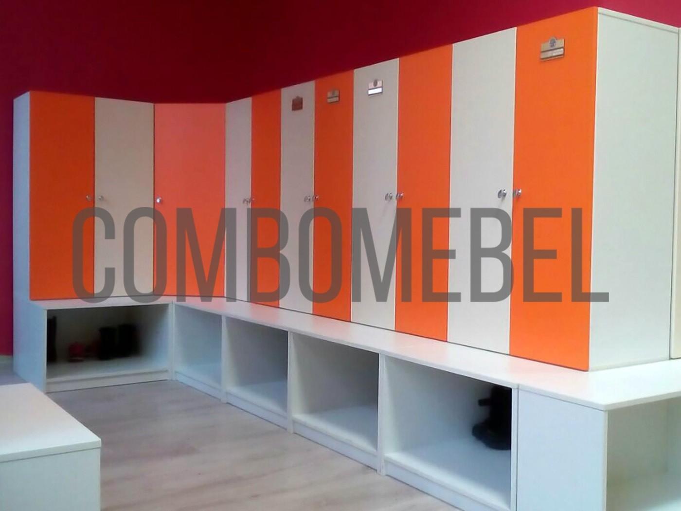 индивидуальные шкафы для детского сада из экологичного материала
