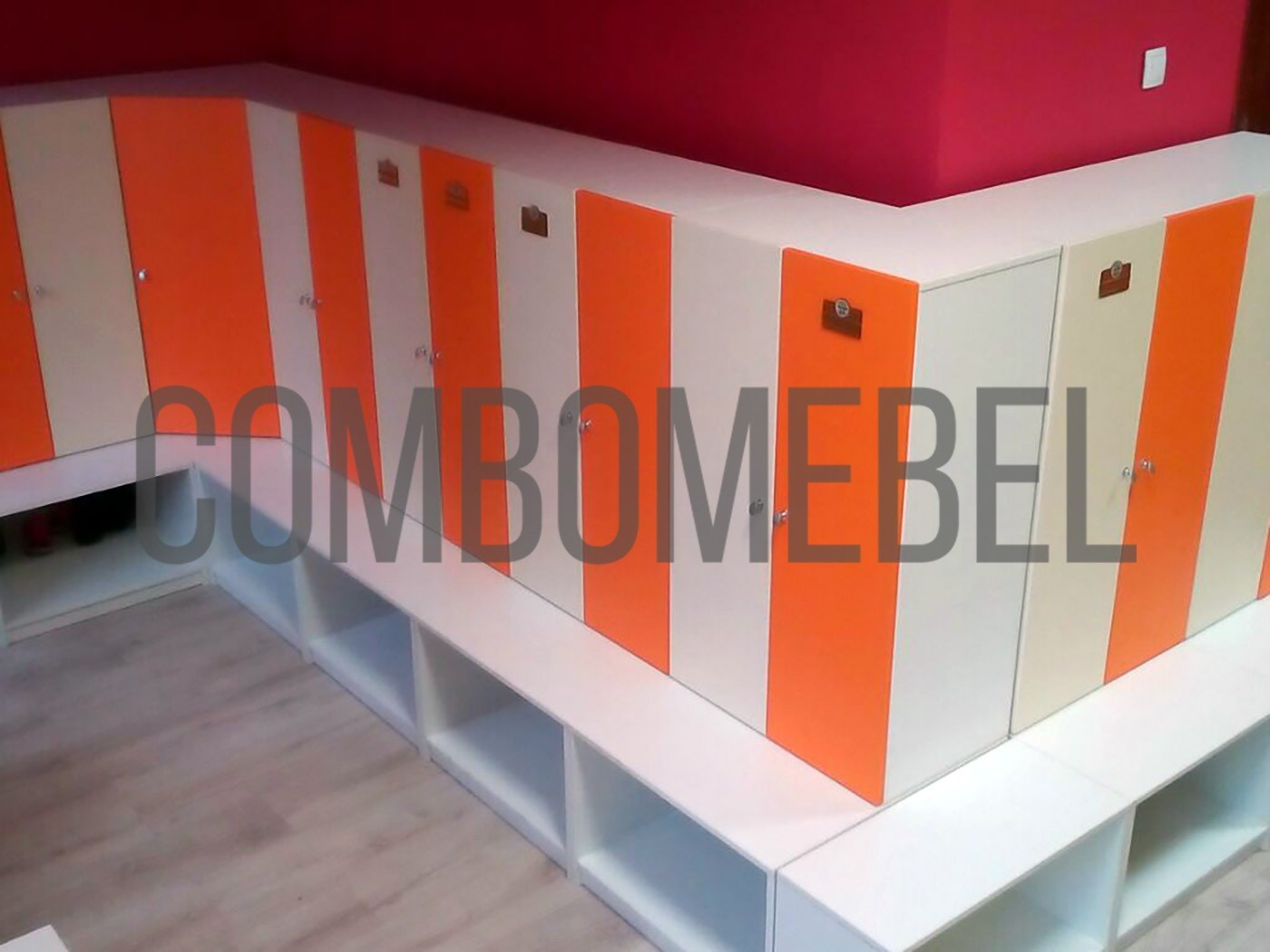 надежные и вместительные шкафы для детского сада