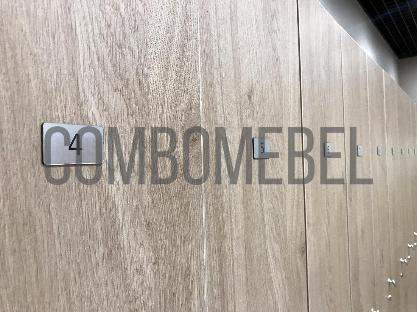 Шкаф односекционный для раздевалок
