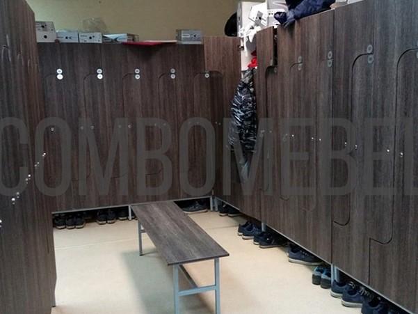 Мебель для раздевалок рабочих