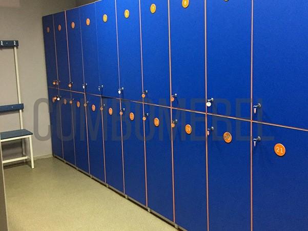 шкафчики для раздевалок фитнес клуба