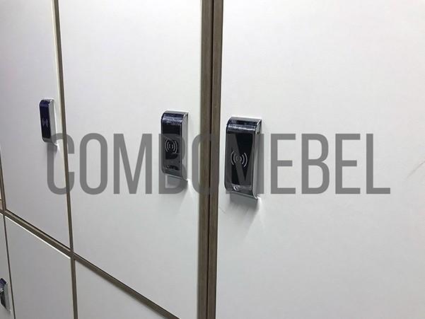 шкафы для раздевалок двухсекционные