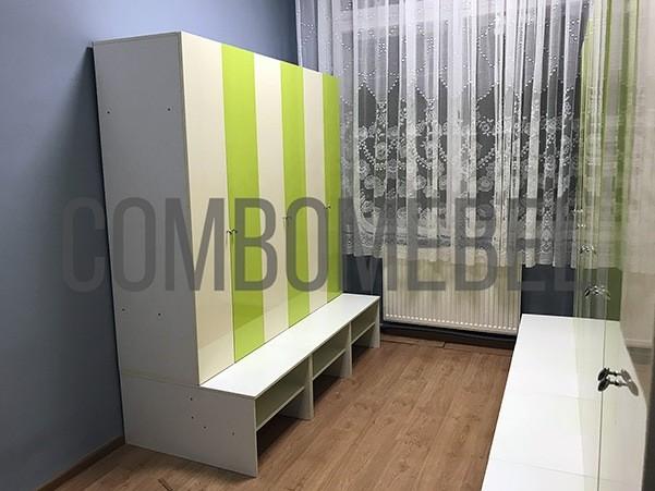Шкафы для раздевалок в сад от ComboMebel