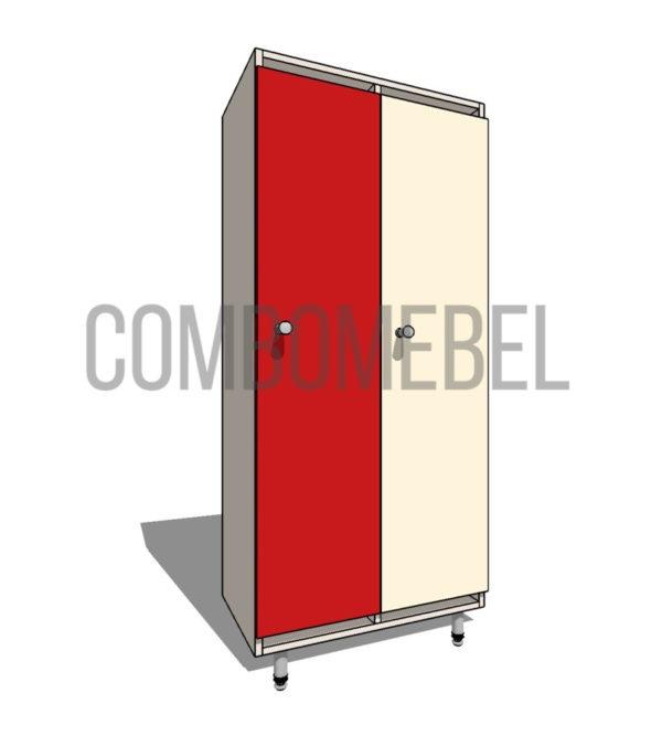 5600 руб. шкафчик детский эконом 2 секции из ЛДСП