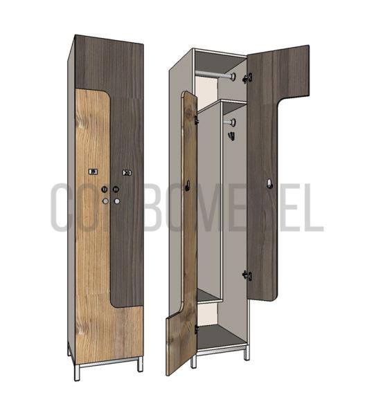 шкафы z-образные для раздевалок